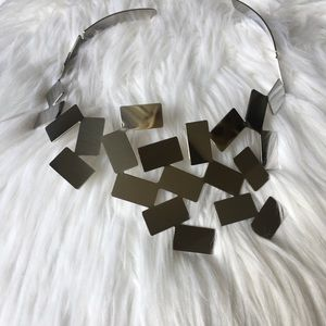 Alessi Necklace in stainless steel mirror polished